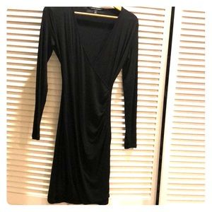 Banana republic long sleeve stretch dress
